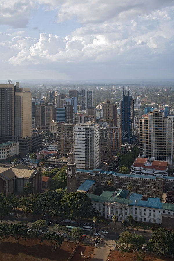 Nairobi stock fotografie