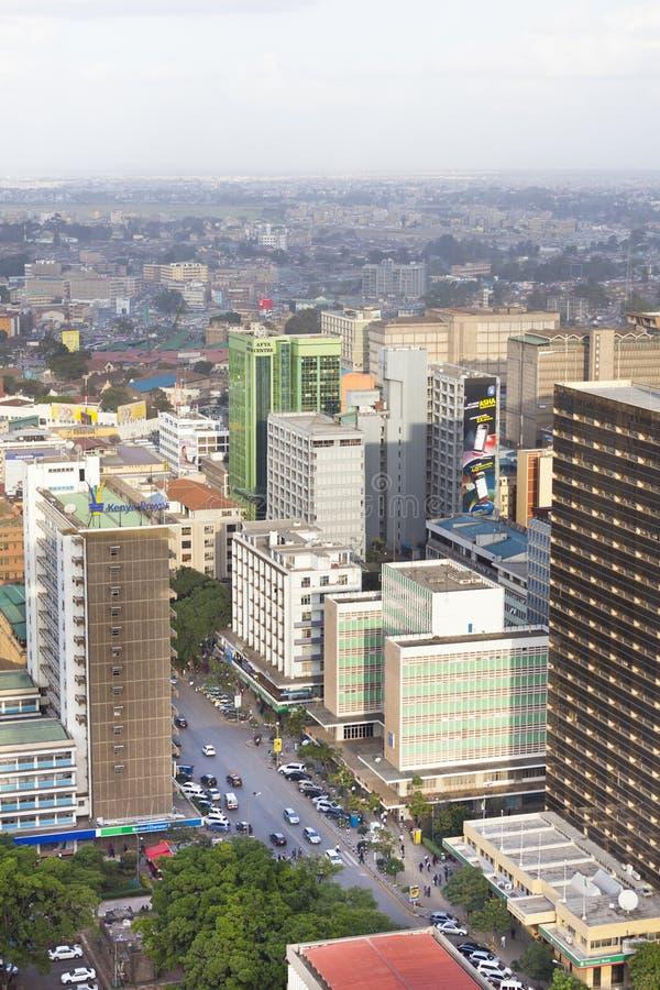 Nairobi affärsområde, Kenya, ledare royaltyfria bilder