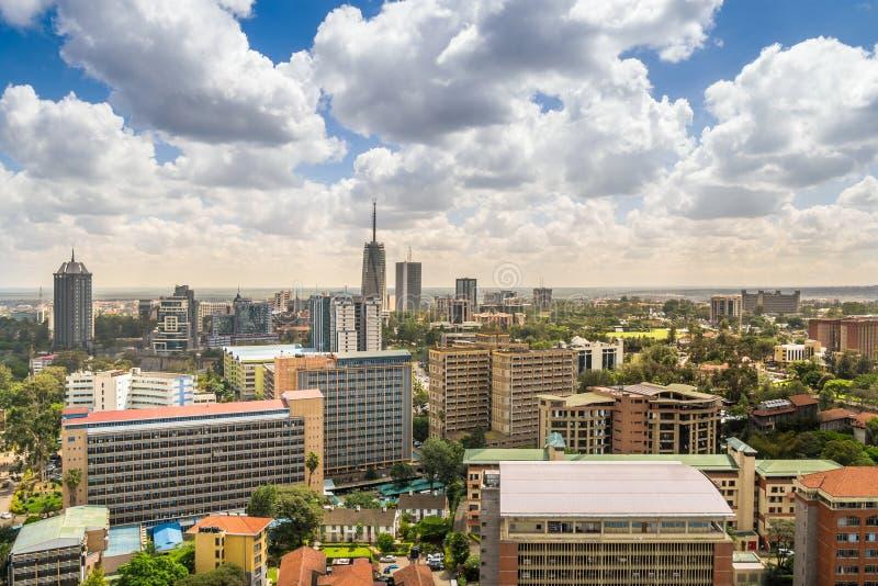 Nairobi céntrica - capital de Kenia imagen de archivo