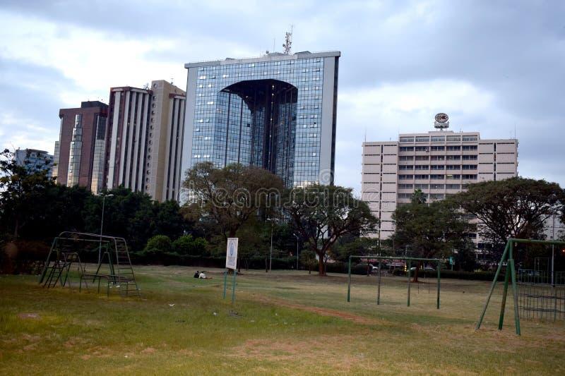 Nairobi Central Park imagen de archivo libre de regalías
