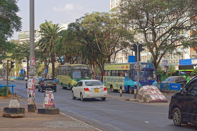 Nairobi Kenia stockbilder