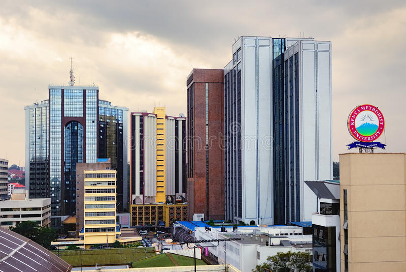 Nairobi, Kenia royalty-vrije stock afbeeldingen