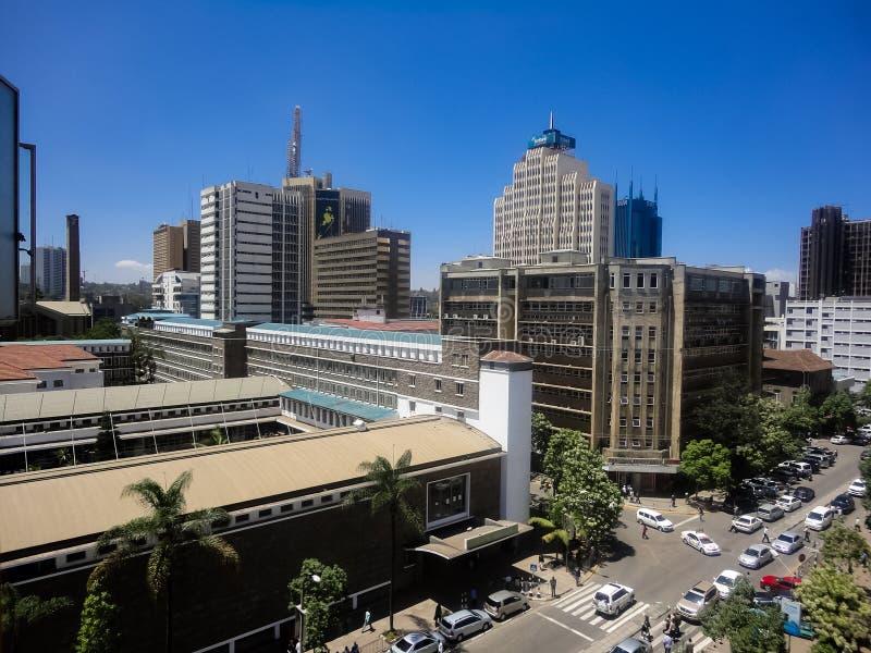 Nairobi, Kenia stock fotografie