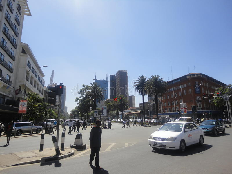 Nairobi, Kenia royalty-vrije stock foto's