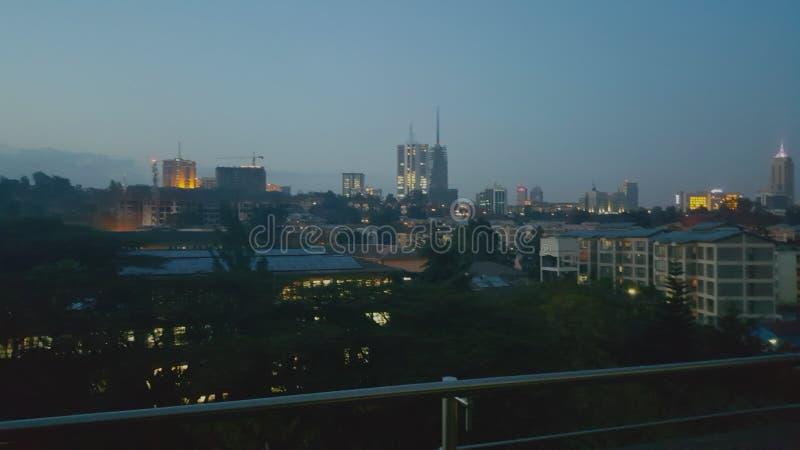 Nairobi Kenia stock fotografie
