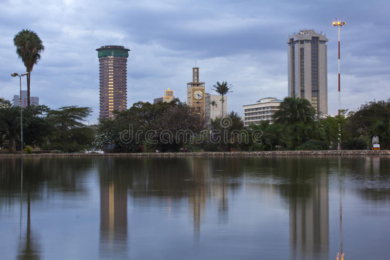 Nairobi Kenya arkivfoton