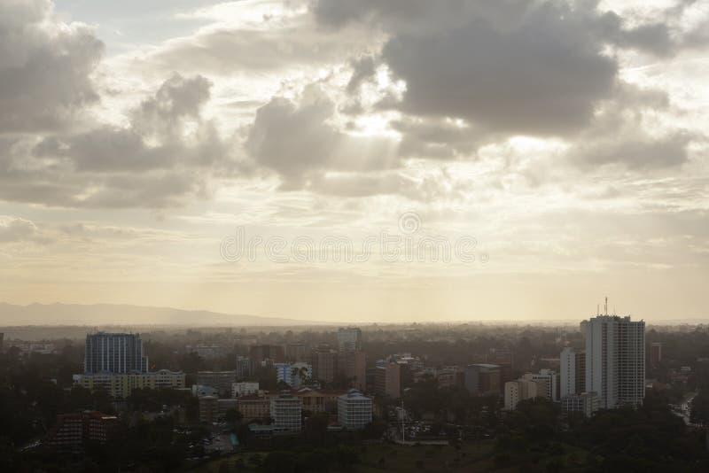 Nairobi Uhuru Park, Kenya arkivfoto