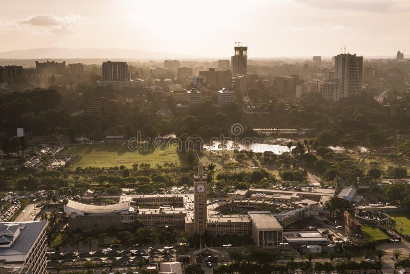Nairobi Uhuru Park, Kenya image stock