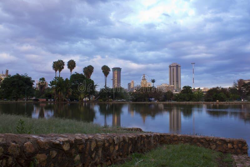 Nairobia Kenja zdjęcia royalty free