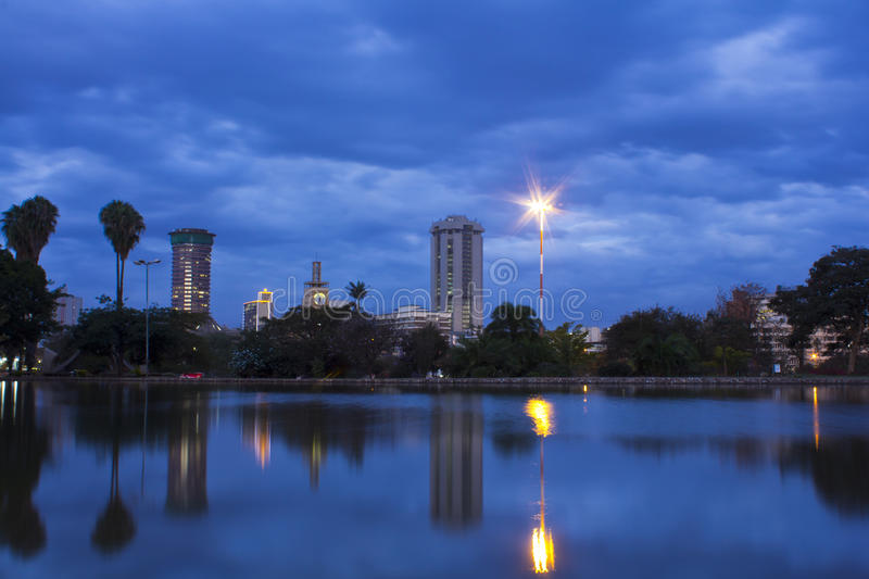 Nairobia Kenja obraz stock