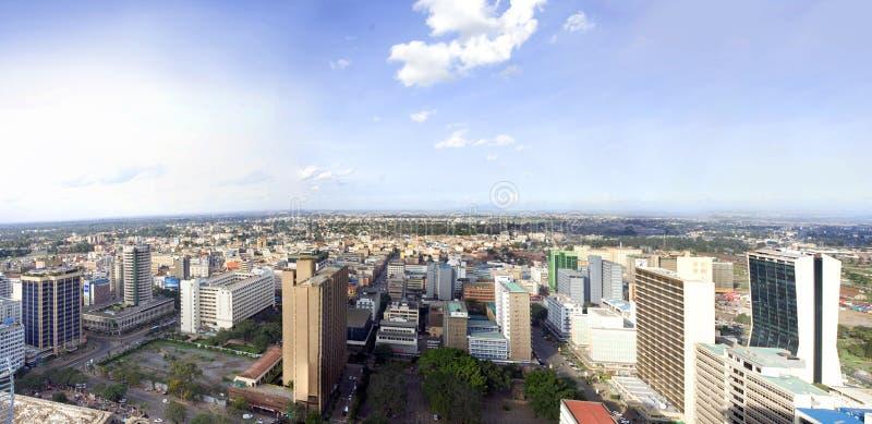 Nairobia miasto Kenja fotografia stock