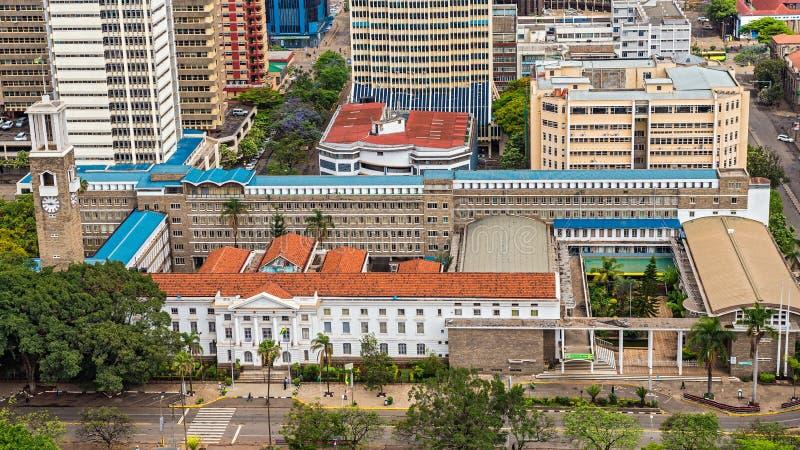 Nairobia rada miasta obrazy stock