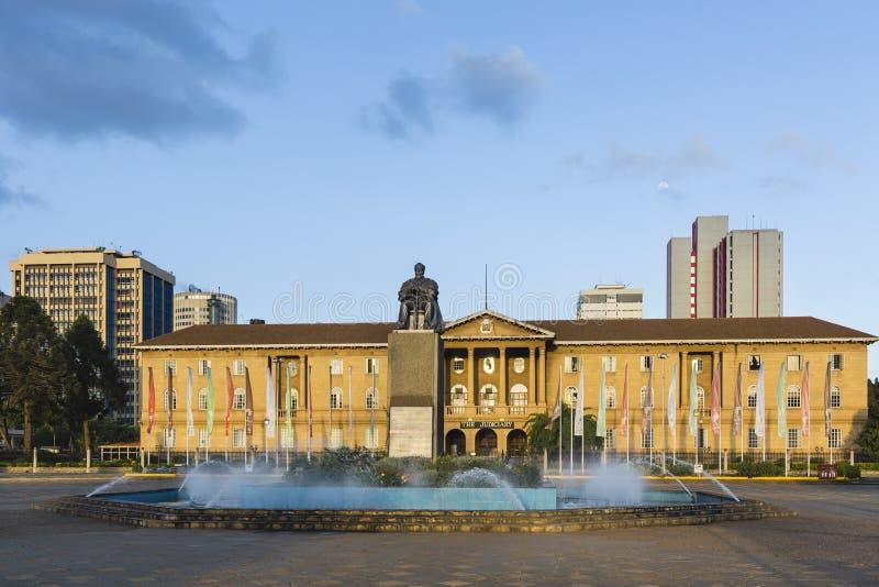Nairobia sąd najwyższy, Kenja, artykuł wstępny zdjęcia stock