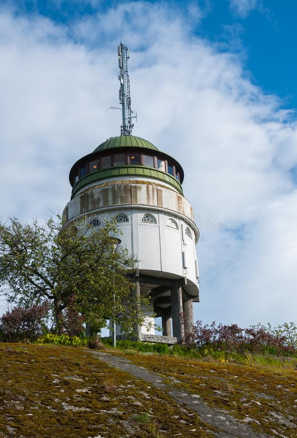 ` Naisvuori ` наблюдательной вышки Mikkeli, Финляндия стоковые фотографии rf