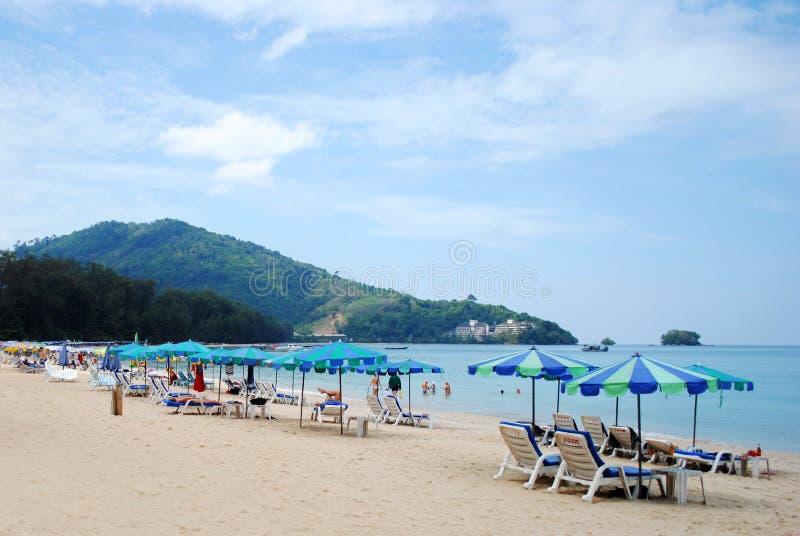Naiyang plaża Phuket fotografia stock