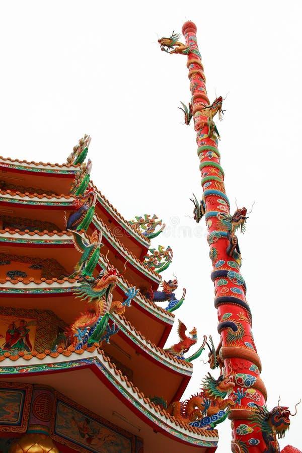 Naja chińczyka świątynia fotografia stock