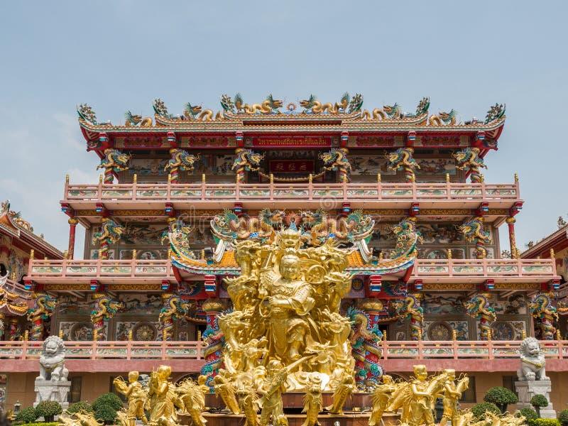 Naja chińczyka świątynia zdjęcie royalty free