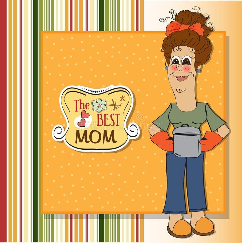 Najlepsza mama ilustracji