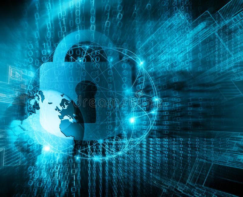 najlepszego biznesowego pojęcia globalni internety technologiczny tło E ilustracja wektor