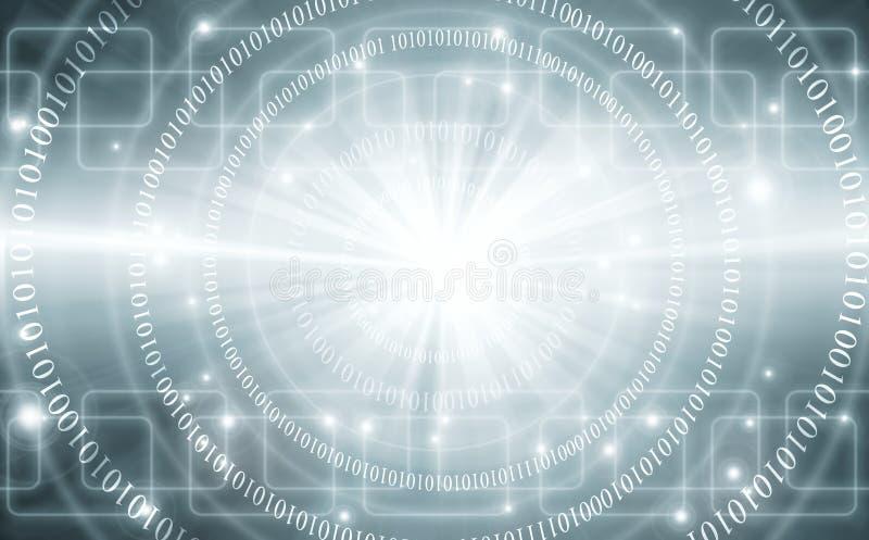najlepszego biznesowego pojęcia globalni internety technologiczny tło Promieni symbole Fi internet, televisi royalty ilustracja