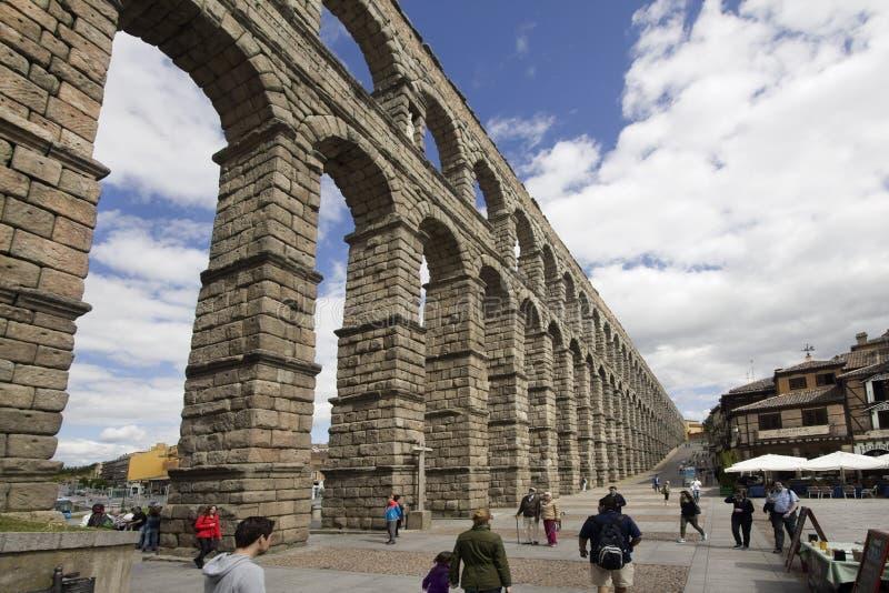 najlepszy aquaduct pierwszą reklamy wybudował pół stulecia iberian lewych pomników po drugie najbardziej jeden półwysep konserwow zdjęcie royalty free