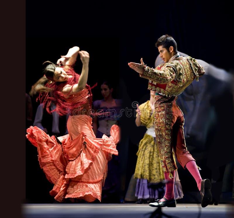 najlepszy carmen tana dramata flamenco zdjęcie royalty free