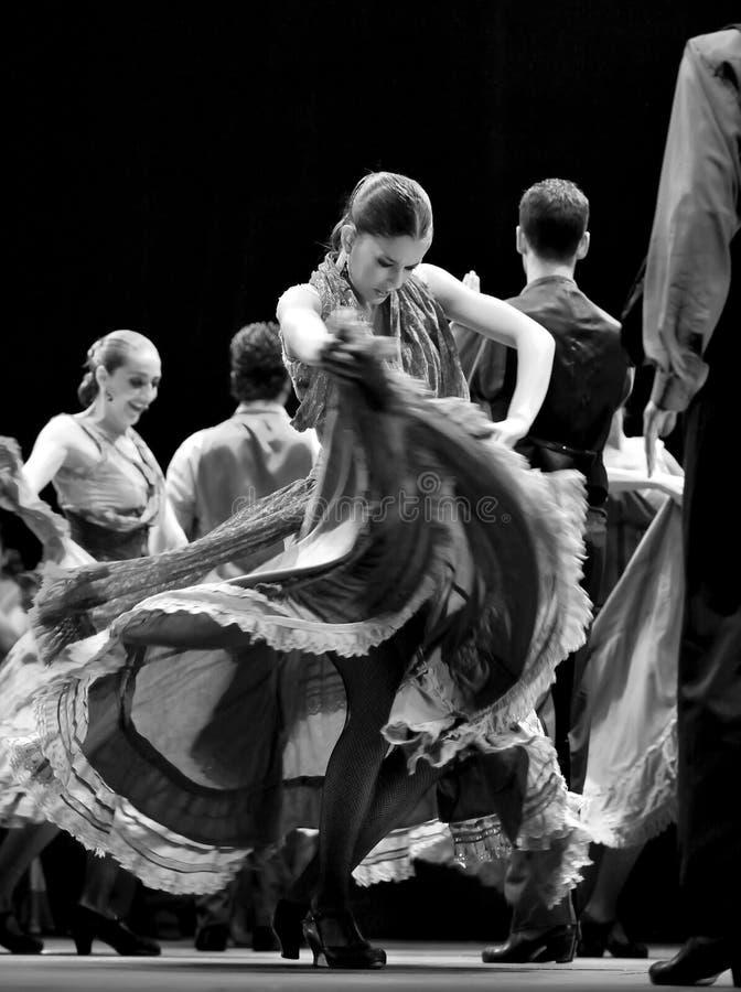 najlepszy carmen tana dramata flamenco obrazy stock