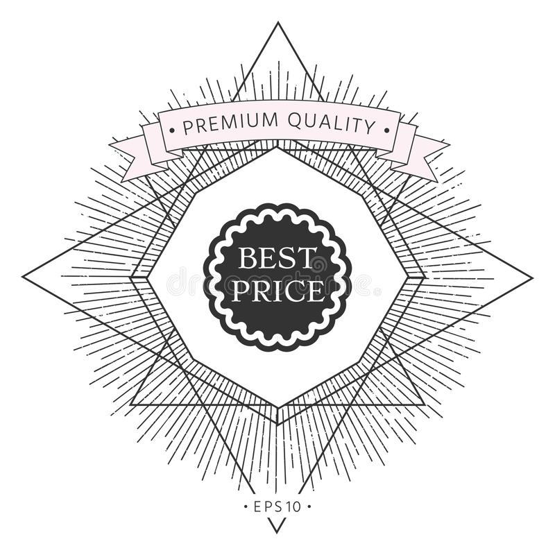 Najlepszy ceny etykietki ikona ilustracja wektor