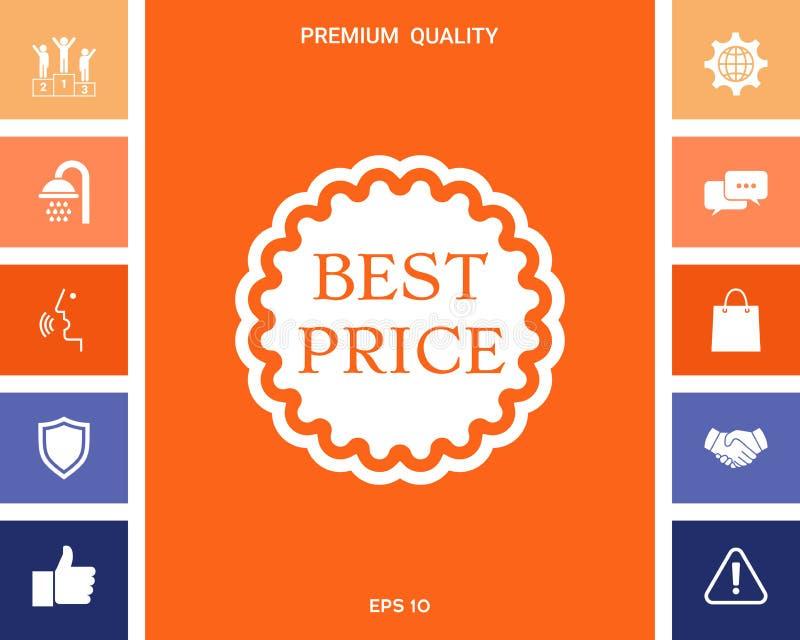 Najlepszy ceny etykietki ikona ilustracji
