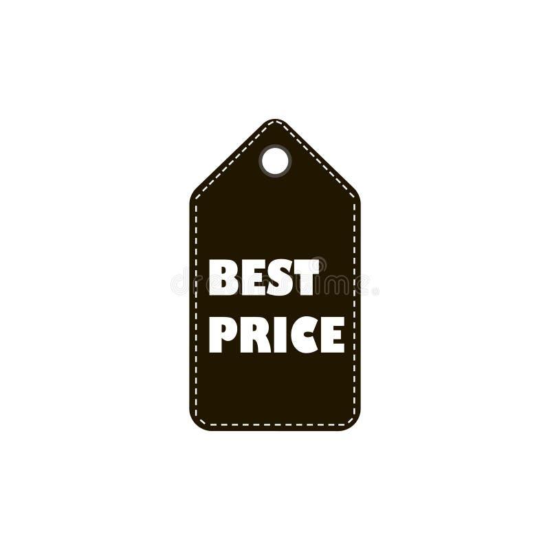 Najlepszy ceny etykietki ikony znak ilustracja wektor