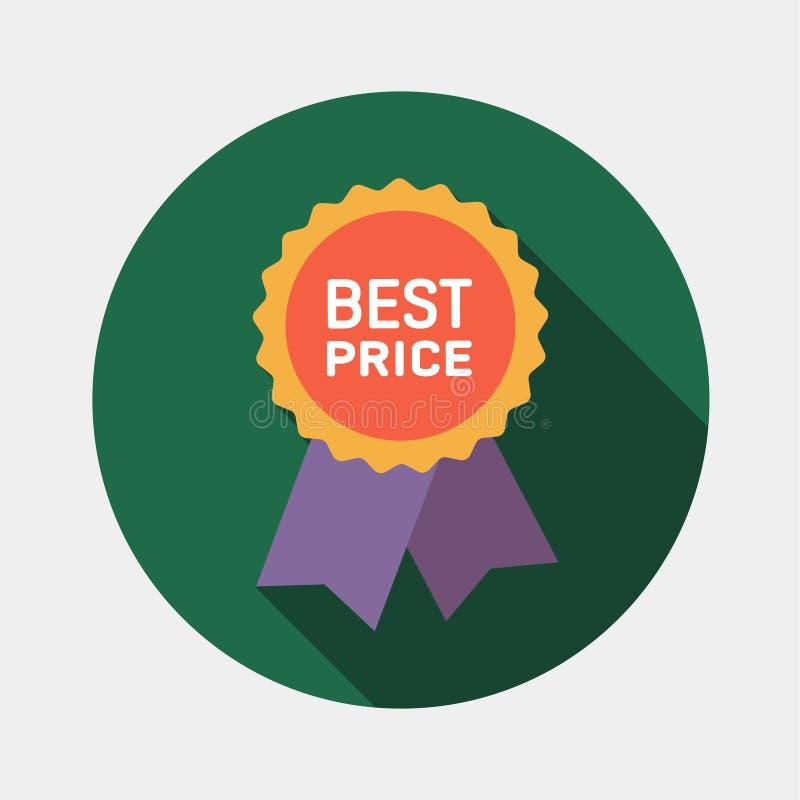 Najlepszy ceny gwaranci etykietki ikona ilustracji