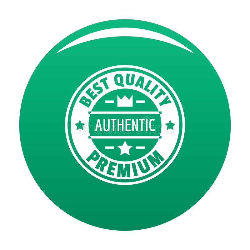 Najlepszy ilość logo, prosty styl royalty ilustracja