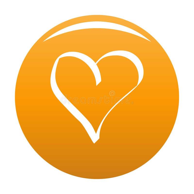 Najlepszy kierowa ikony pomarańcze royalty ilustracja