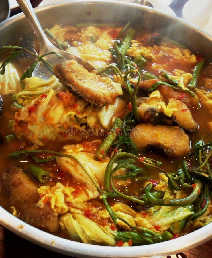 Najlepszy kurs jedzący z ryż tajlandzki jedzenie zdjęcia stock