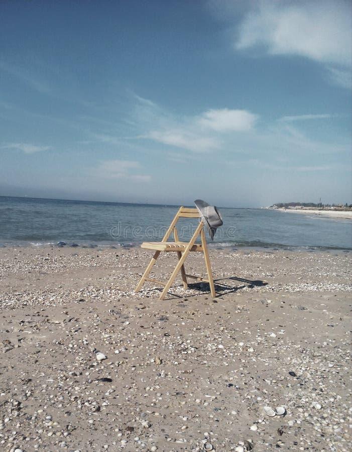 najlepszy miejsce dla odbicia - ten strona morze zdjęcie stock