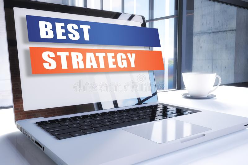 Najlepszy strategia ilustracja wektor