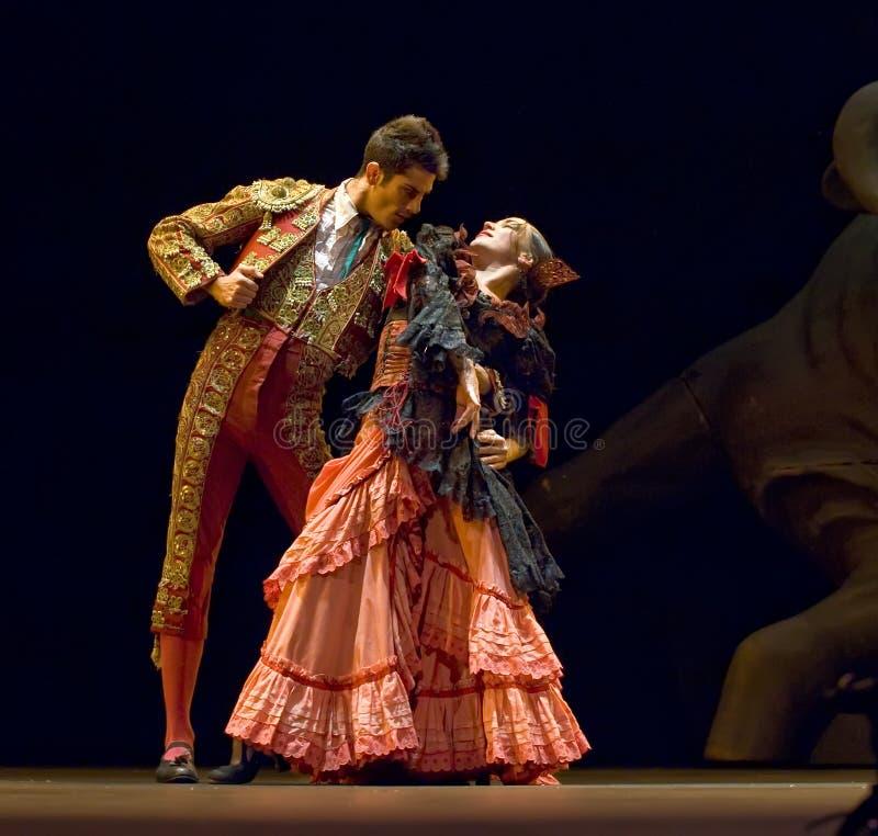 najlepszy tana dramata flamenco fotografia stock