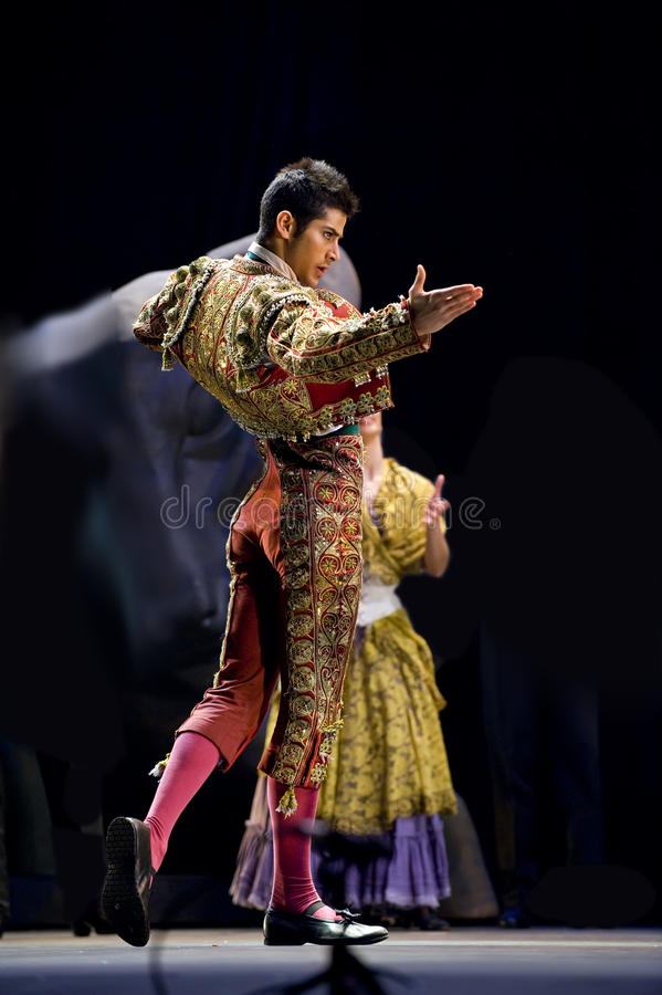 najlepszy tana dramata flamenco zdjęcia royalty free