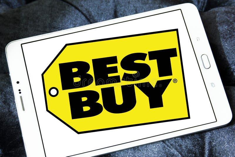 Najlepszy zakupu sklepu logo zdjęcia stock