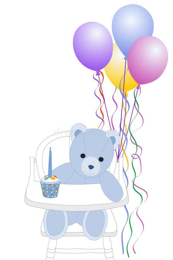 najpierw urodziny. ilustracji