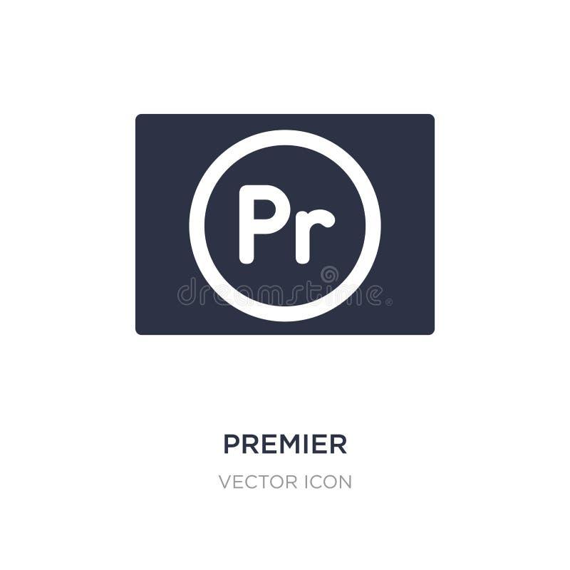 najważniejsza ikona na białym tle Prosta element ilustracja od UI pojęcia ilustracja wektor