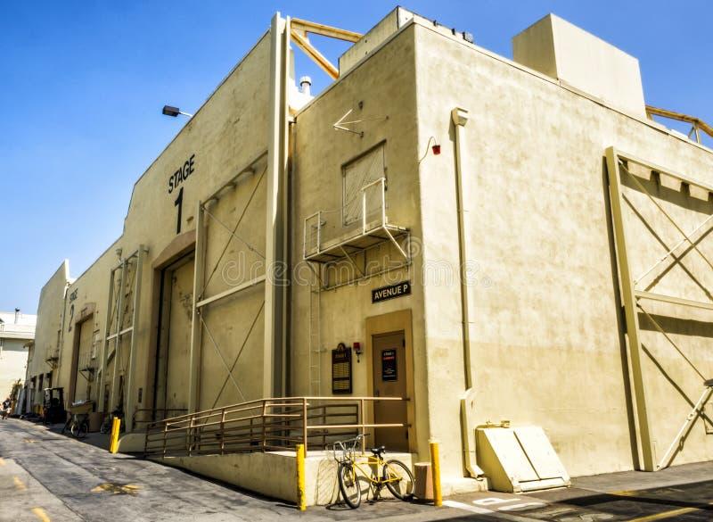 Najważniejsi studio obrazki, scena 1, Hollywood wycieczka turysyczna na 14th Sierpień, 2017 - Los Angeles, los angeles, Kaliforni zdjęcia stock