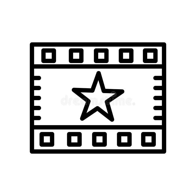 Najważniejszy ikona wektor odizolowywający na białym tle, elementach w liniowym stylu, Najważniejszych znaka, linii i konturu, ilustracja wektor