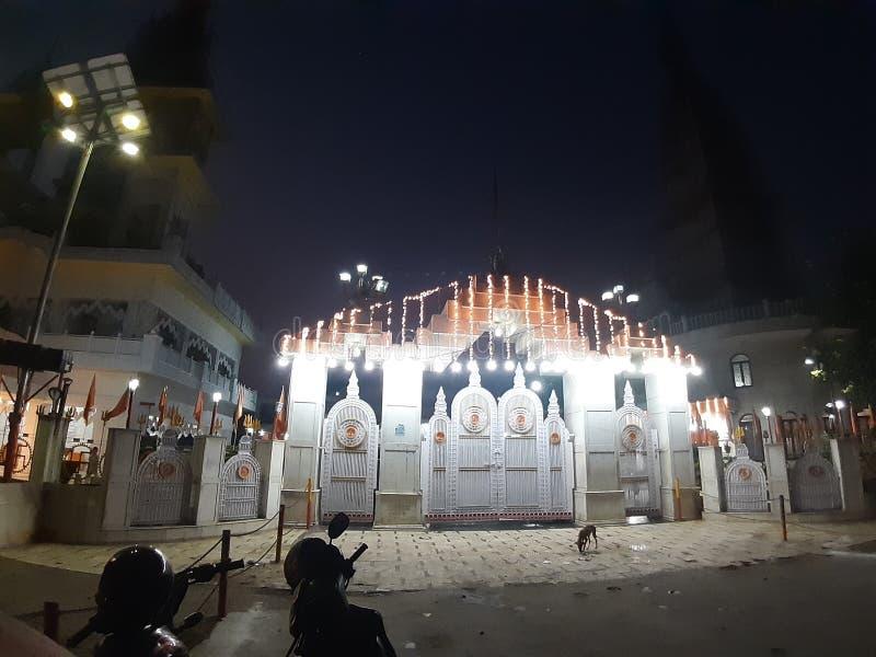 Największa świątynia w hrabstwie meerut city india fotografia royalty free