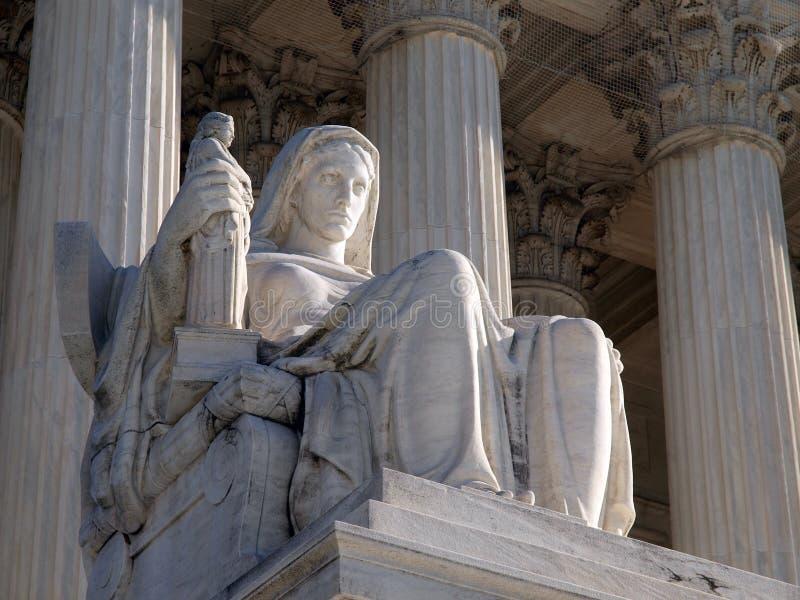 najwyższa dworska statua obraz royalty free