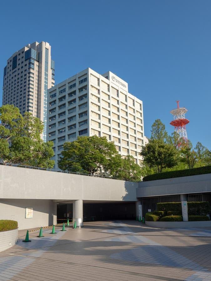 Naka-ku ulica, Hiroszima, Japonia zdjęcia royalty free