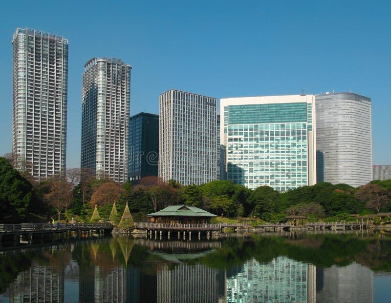 Nakajima teahouse, Tokyo, Japan royalty free stock images
