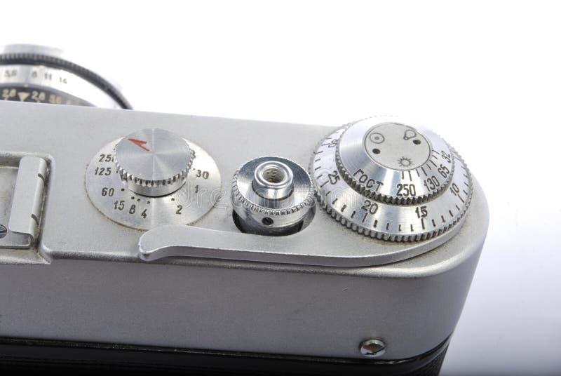 NAKARMOINI 3, Rosyjski rangefinder 35mm, industar 61 obrazy stock