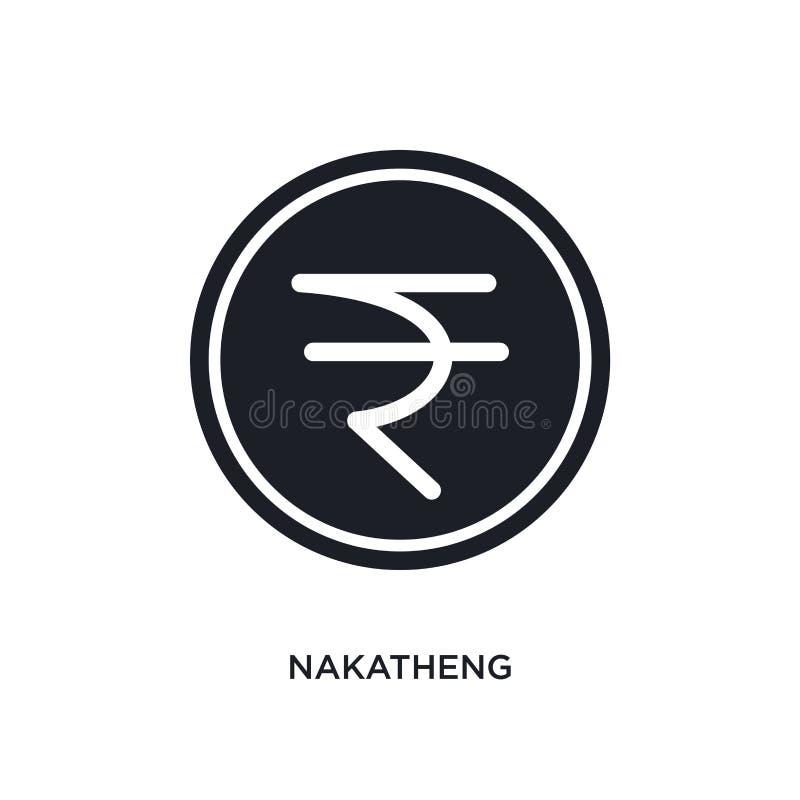 nakatheng geïsoleerd pictogram eenvoudige elementenillustratie van het conceptenpictogrammen van India en van holi nakatheng edit royalty-vrije illustratie