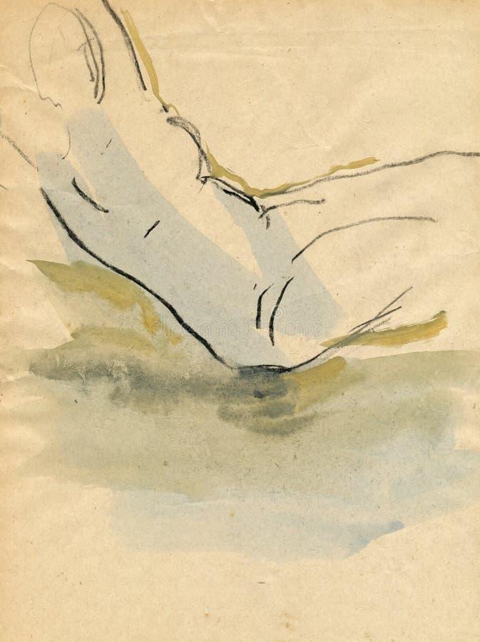 Download Naked Figure Stock Image - Image: 7182691